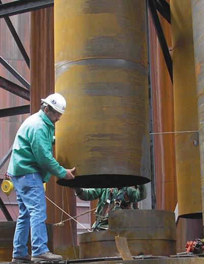 cooling U-tubes